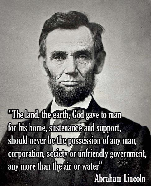 Abraham Lincoln[1]