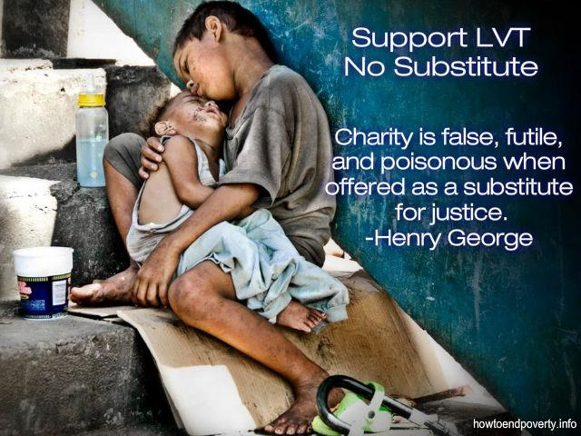 Charity is false