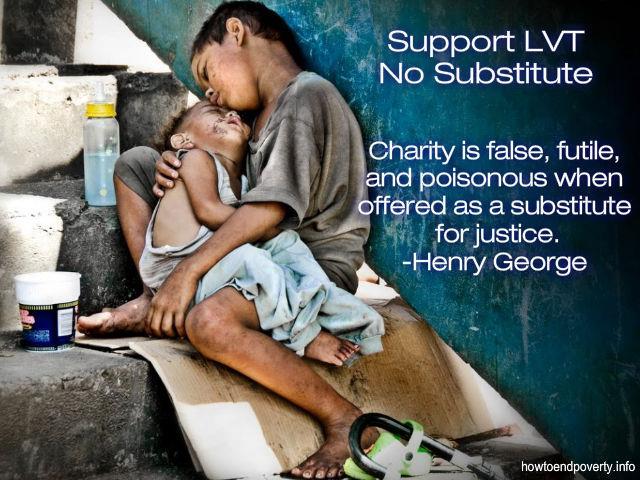 Charity is false